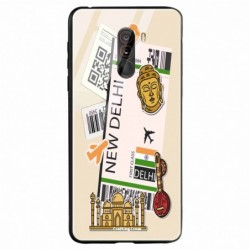 Buy Poco F1 New Delhi Mobile Phone Covers Online at Craftingcrow.com