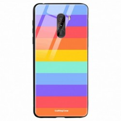 Buy Poco F1 Rainbow pattern Mobile Phone Covers Online at Craftingcrow.com