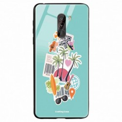Buy Poco F1 Tropical Sunset Mobile Phone Covers Online at Craftingcrow.com