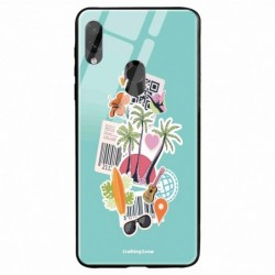 Buy Redmi Note 7 Pro Tropical Sunset Mobile Phone Covers Online at Craftingcrow.com