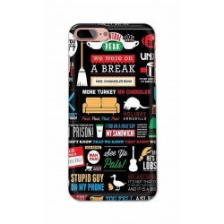 Crafting Crow Mobile Back Cover For Apple Iphone 8 Plus - Friends 2