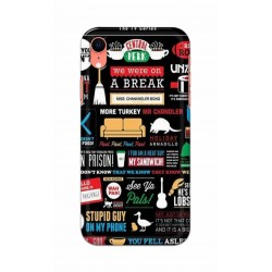Crafting Crow Mobile Back Cover For Apple Iphone XR - Friends 2