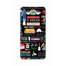 Crafting Crow Mobile Back Cover For Samsung Galaxy A7 2018 - Friends 2