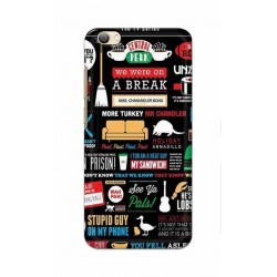 Crafting Crow Mobile Back Cover For Vivo V5s - Friends 2