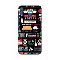 Crafting Crow Mobile Back Cover For Samsung Galaxy M20 - Friends 2