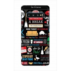 Crafting Crow Mobile Back Cover For Samsung Galaxy S10 Plus - Friends 2
