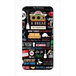 Crafting Crow Mobile Back Cover For Samsung Galaxy S10e - Friends 2