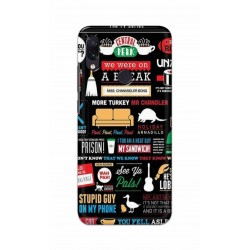 Crafting Crow Mobile Back Cover For Xiaomi Redmi Note 7 - Friends 2