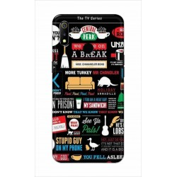 Crafting Crow Mobile Back Cover For Oppo Realme 3 - Friends 2