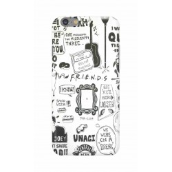 Crafting Crow Mobile Back Cover For Apple Iphone 6 - Friends
