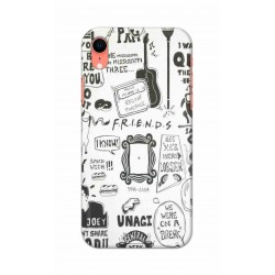 Crafting Crow Mobile Back Cover For Apple Iphone XR - Friends