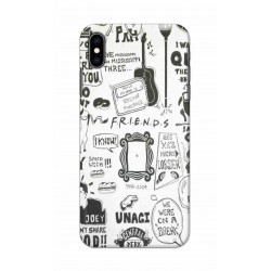Crafting Crow Mobile Back Cover For Apple Iphone XS Max - Friends