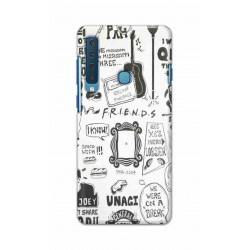 Crafting Crow Mobile Back Cover For Samsung Galaxy A9 2018 - Friends