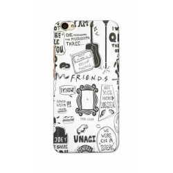 Crafting Crow Mobile Back Cover For Vivo V5 - Friends