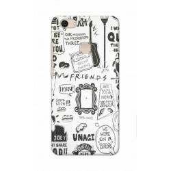 Crafting Crow Mobile Back Cover For Vivo V7 Plus - Friends