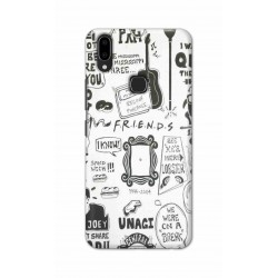 Crafting Crow Mobile Back Cover For Vivo V9 - Friends