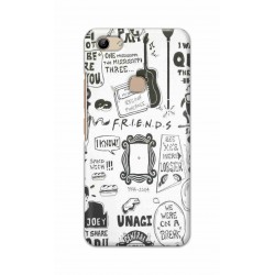 Crafting Crow Mobile Back Cover For Vivo Y81 - Friends