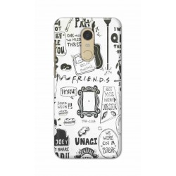 Crafting Crow Mobile Back Cover For Xiaomi Redmi Note 5 - Friends