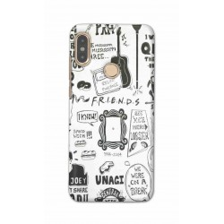 Crafting Crow Mobile Back Cover For Xiaomi Redmi Note 5 Pro - Friends