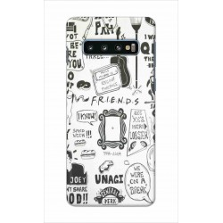Crafting Crow Mobile Back Cover For Samsung Galaxy S10 Plus - Friends