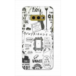Crafting Crow Mobile Back Cover For Samsung Galaxy S10e - Friends