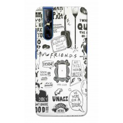 Crafting Crow Mobile Back Cover For Vivo V15 Pro - Friends