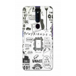 Crafting Crow Mobile Back Cover For Oppo F11 Pro - Friends