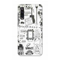 Crafting Crow Mobile Back Cover For Xiaomi Mi 9 - Friends