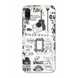 Crafting Crow Mobile Back Cover For Xiaomi Mi Play - Friends