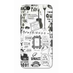 Crafting Crow Mobile Back Cover For Xiaomi Redmi Go - Friends