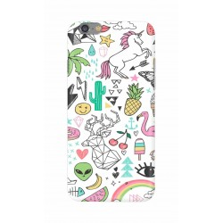 Crafting Crow Mobile Back Cover For Apple Iphone 6 - Good Things