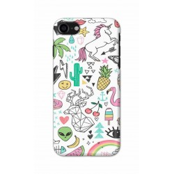 Crafting Crow Mobile Back Cover For Apple Iphone 8 - Good Things