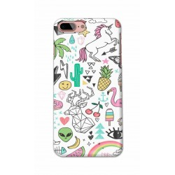 Crafting Crow Mobile Back Cover For Apple Iphone 8 Plus - Good Things