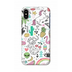 Crafting Crow Mobile Back Cover For Apple Iphone X - Good Things