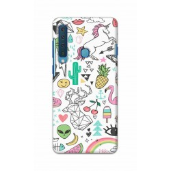 Crafting Crow Mobile Back Cover For Samsung Galaxy A9 2018 - Good Things