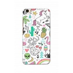 Crafting Crow Mobile Back Cover For Vivo V5 - Good Things
