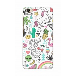 Crafting Crow Mobile Back Cover For Vivo Y55 - Good Things