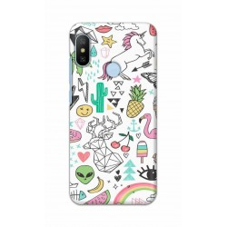 Crafting Crow Mobile Back Cover For Xiaomi Mi A2 - Good Things