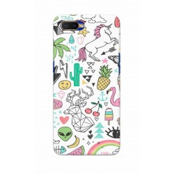 Crafting Crow Mobile Back Cover For Oppo K1 - Good Things