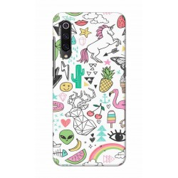 Crafting Crow Mobile Back Cover For Xiaomi Mi 9 - Good Things