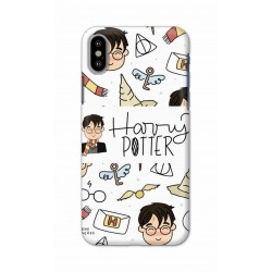 Crafting Crow Mobile Back Cover For Apple Iphone X - Harry