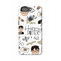 Crafting Crow Mobile Back Cover For One Plus 5t - Harry