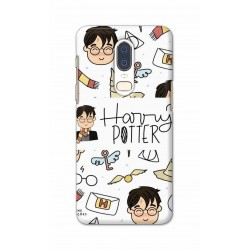 Crafting Crow Mobile Back Cover For One Plus 6 - Harry