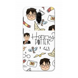 Crafting Crow Mobile Back Cover For One Plus 6t - Harry