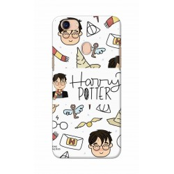 Crafting Crow Mobile Back Cover For Oppo F5 - Harry