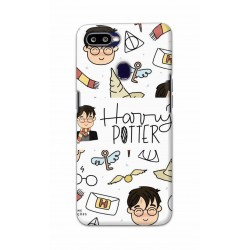 Crafting Crow Mobile Back Cover For Oppo F9 - Harry