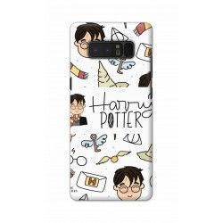 Crafting Crow Mobile Back Cover For Samsung Note 8 - Harry