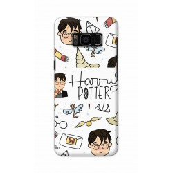 Crafting Crow Mobile Back Cover For Samsung S8 - Harry