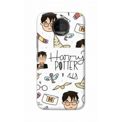 Crafting Crow Mobile Back Cover For Motorola Moto G5S Plus - Harry