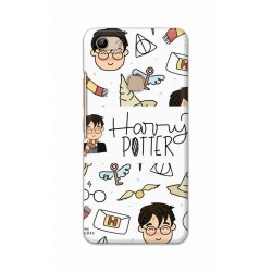 Crafting Crow Mobile Back Cover For Vivo Y81 - Harry